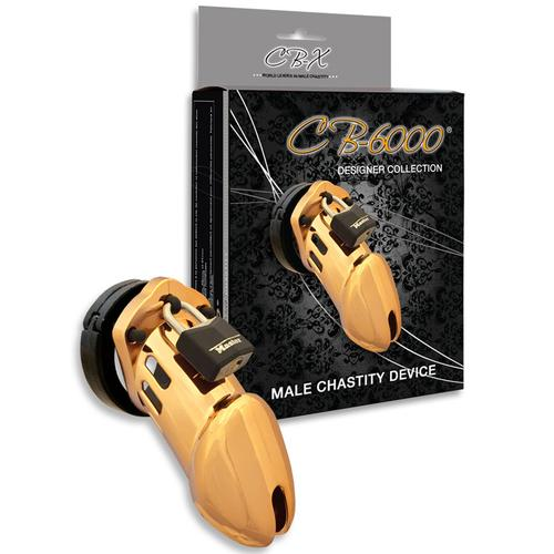 CB-6000 Gold Male Chastity