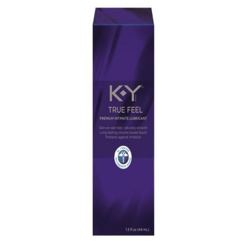 K-Y True Feel Silicone Gel Lube 1.5oz.