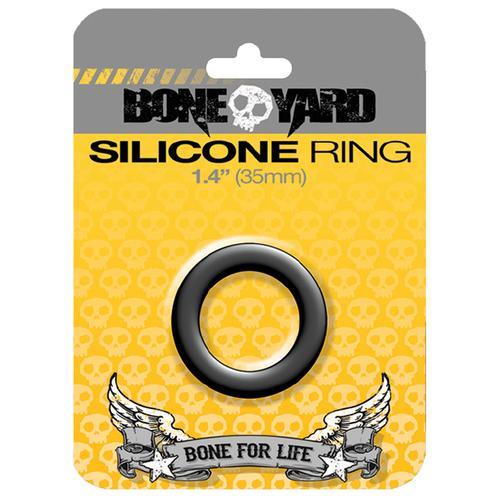 Boneyard Silicone Ring 35mm Black