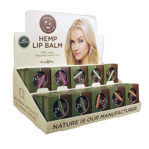 EB Hemp Lip Pot Asst DP (30pc)