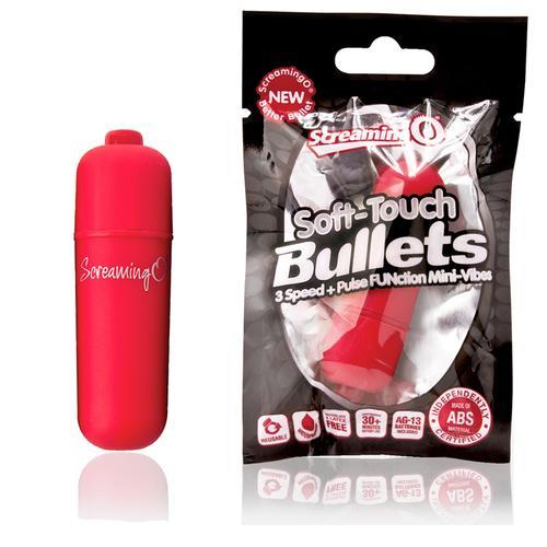 Screaming O Soft Tch Vooom Bullet Red