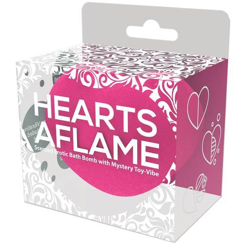 Hearts A Flame Lovers Bath Bomb W/Vibe