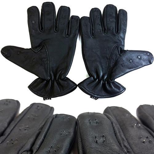 Rouge Vampire Gloves Black Med