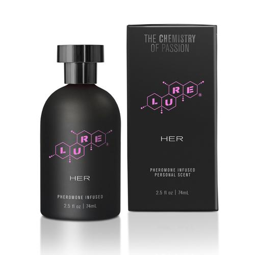 Lure Black Label For Her Pheromone 74ml
