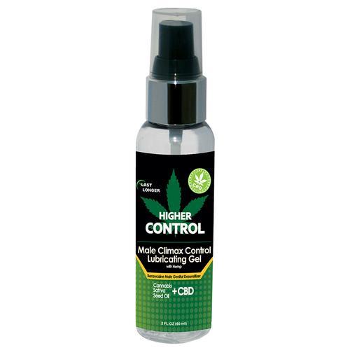Higher Control Climax Gel w/Hemp Oil 2oz