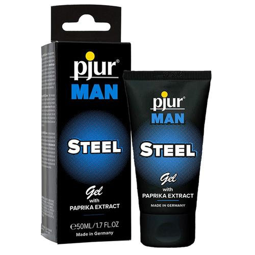 Pjur Man Steel Gel .50ml/1.7oz Tube