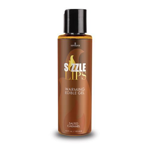 Sizzle Lips Warming Gel Sltd Caram 4.2oz