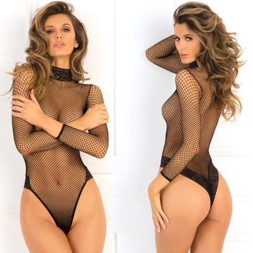High Demand Bodysuit Black M/L