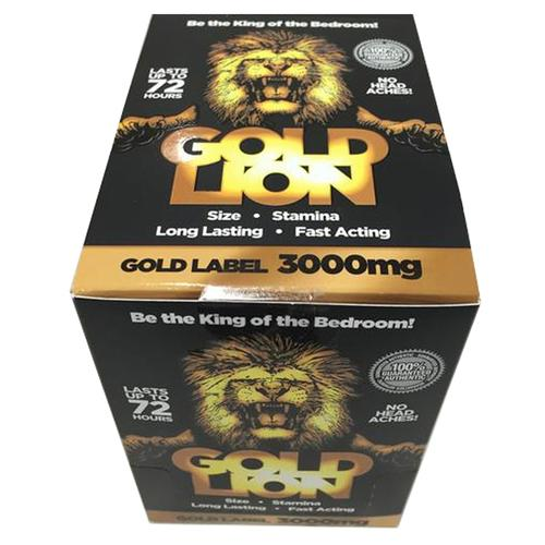 Gold Lion Male  Pill 1ct (24/Dp)