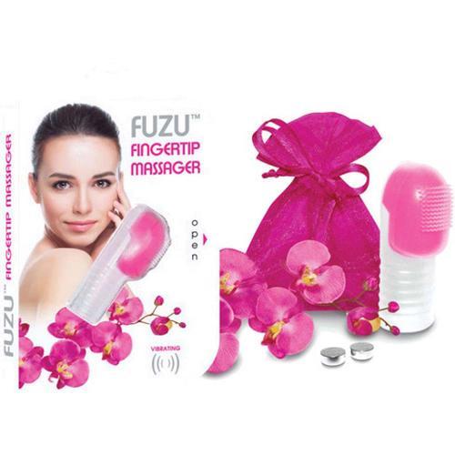 Fuzu Fingertip Massager Neon Pink