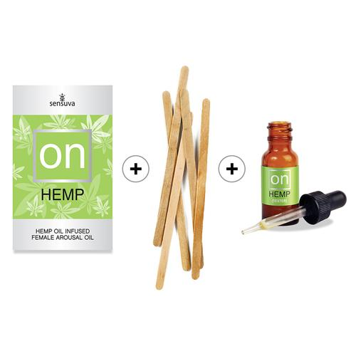 On for Her Hemp Oil 5ml 12pc Refill Kit
