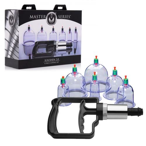 Masters Sukshen 6 Piece Cupping Set