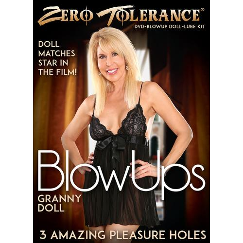 ZT Granny Blow Up Doll W/DVD