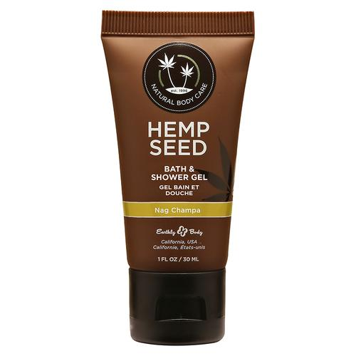 EB Hemp Seed Shower Gel Nag Champa 1oz