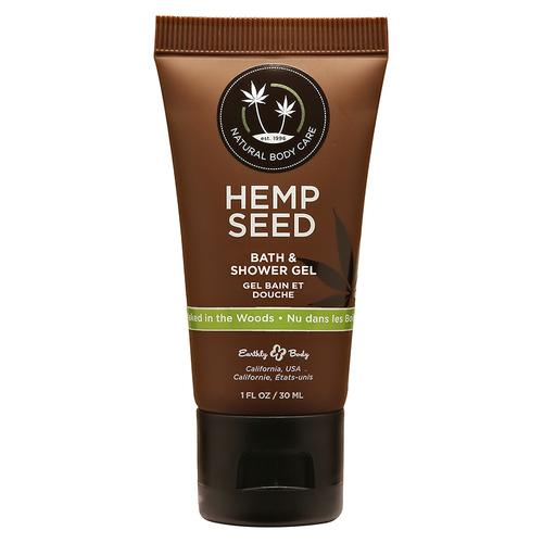 EB Hemp Seed Shower Gel Naked/Woods 1oz