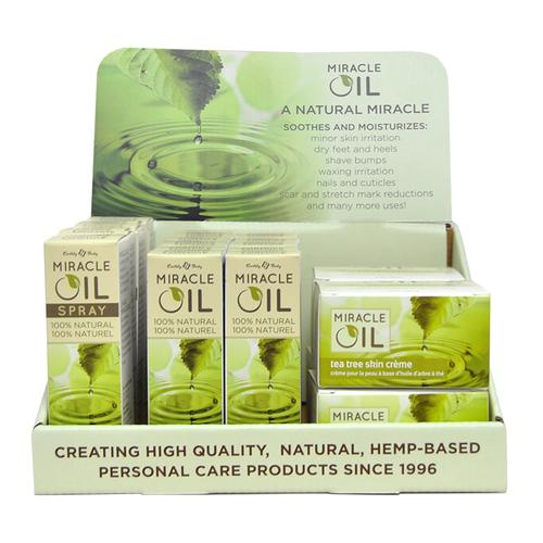 EB Miracle Oil 19pc Display