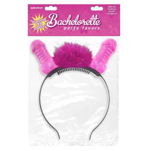 BP Flashing Light-Up Pecker Headband