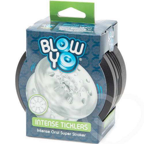BlowYo Intense Ticklers Clear