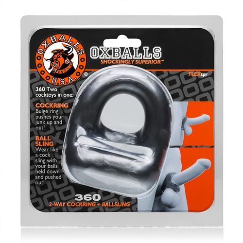 OxBalls 360, Cockring & Ballsling, Steel