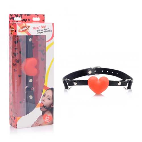 Frisky Heart Beat Sili Heart Shaped Gag