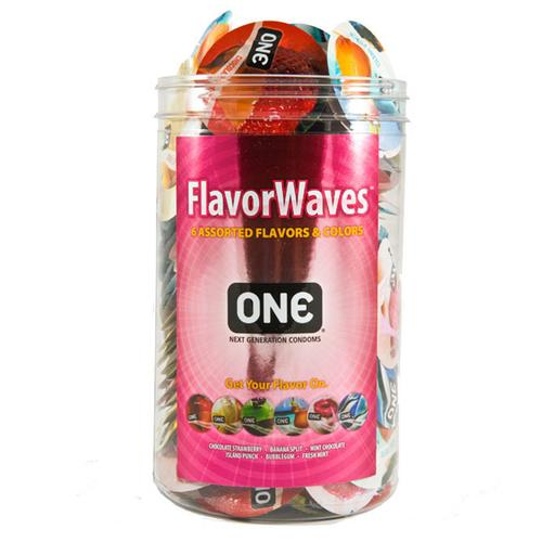 One Flavor Waves Display Bowl (100)
