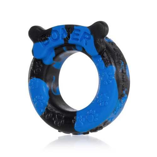 OxBalls Boner Cockring, Blue/Black