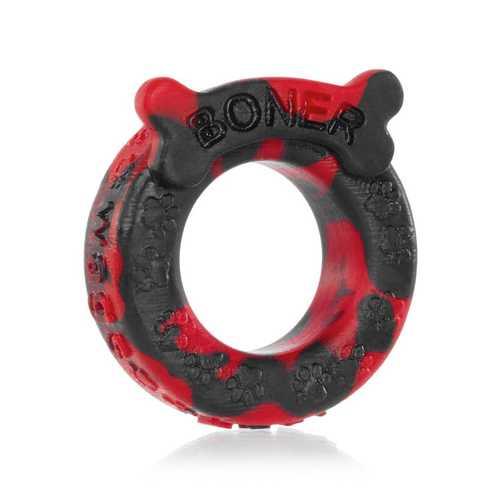 OxBalls Boner Cockring, Red/Black