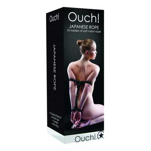 Ouch! Japanese Rope - 10m - Black