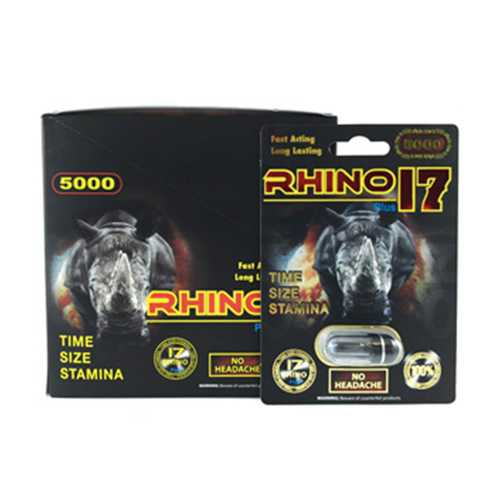 Rhino 17 5000 Plus 1ct (24/Dp)