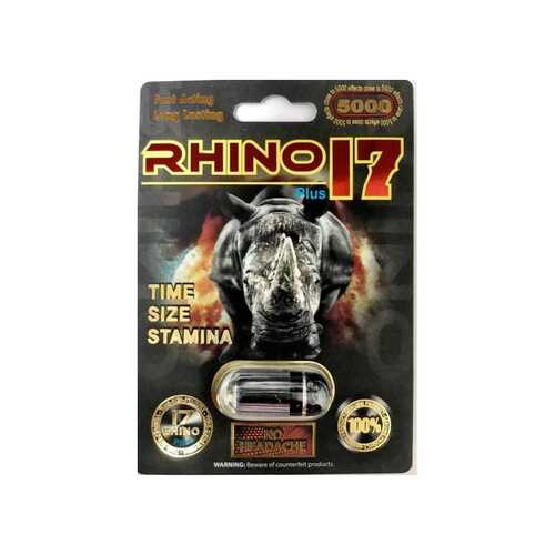 Rhino 17 5000 Plus 1ct Open Stock
