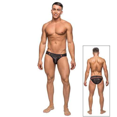 MP Camo Sport Net Sport Bikini Black Sm