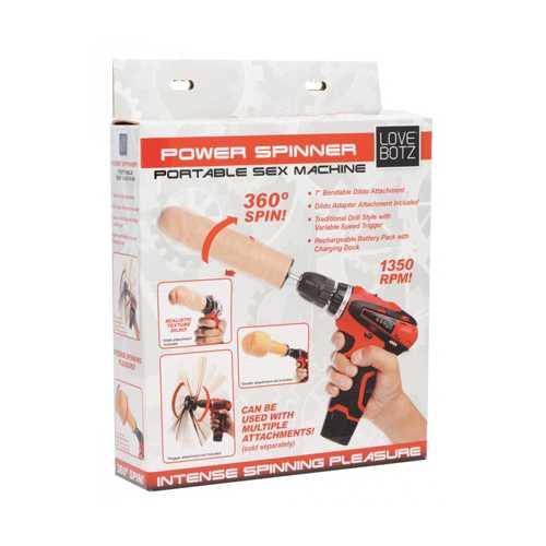 LoveBotz Power Spinner Drill Sex Machine
