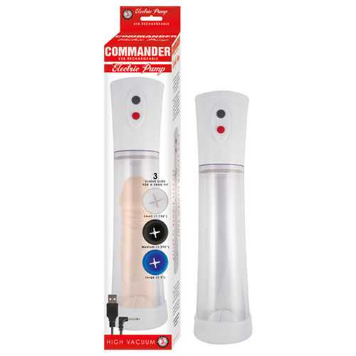 Commander Electric Pump Clear