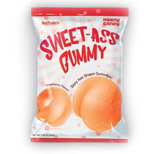Sweet Ass Gummy Butt Shaped Gummies 8pc