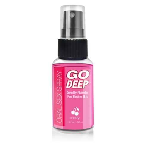 Go Deep Oral Sex Spray Cherry 1 fl oz
