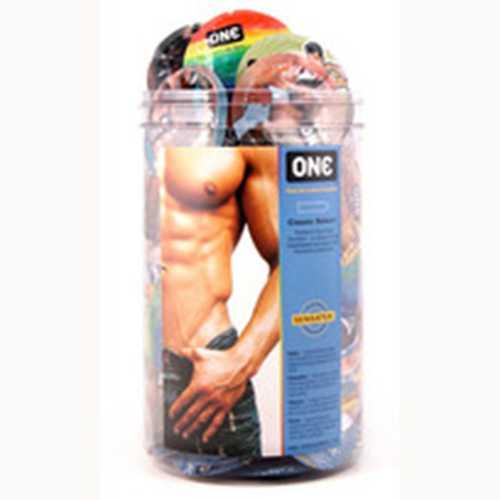 ONE Pride Condom Bowl (100pc)