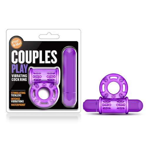 Play With Me - Couples Play Vib Ring Pur