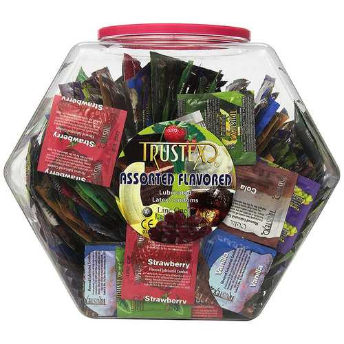 Trustex Flavor Condoms Asst Case (1000)