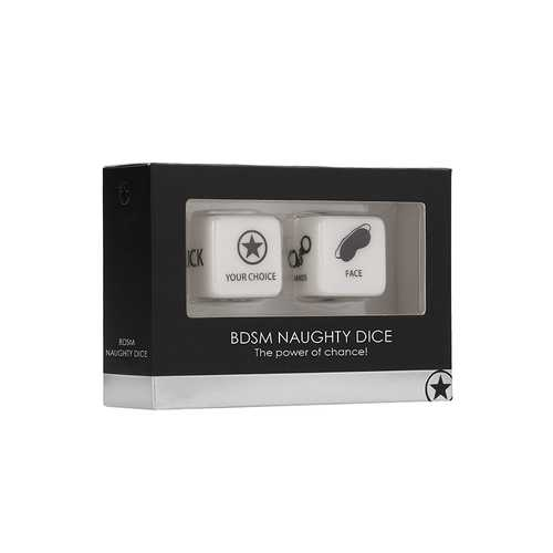 Ouch! BDSM Naughty Dice - Black