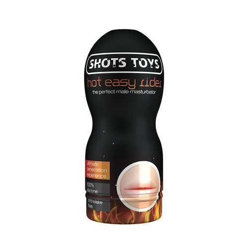 Shots Easy Rider Hot Mast  - Mouth