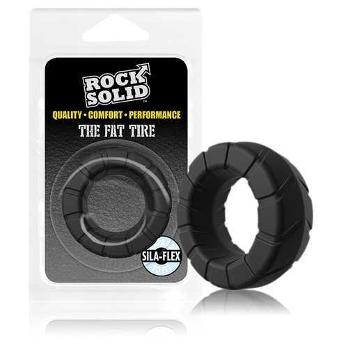 Rock Solid Silaflex Fat Tire Black