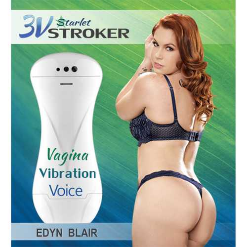 3v Talking/Vibe Starlet Stroker Edyn B.