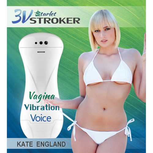 3v Talking/Vibe Starlet Stroker Kate E.