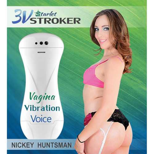 3v Talking/Vibe Starlet Stroker Nickey H