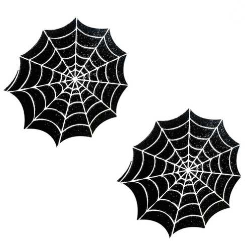 Neva Nude Pasty Spider Web