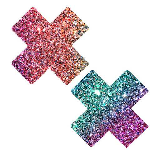 Neva Nude Pasty X Factor Glitter Multi