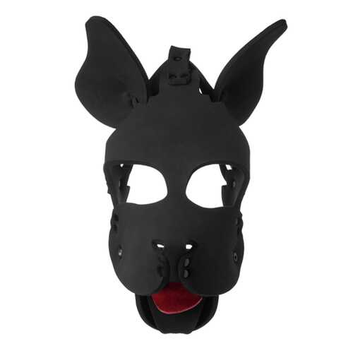 Masters Neoprene Dog Hood w/rem Muzzle