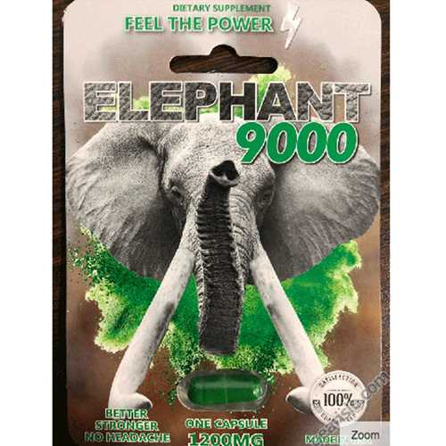 Elephant 9000 Male Enhancer 1ct