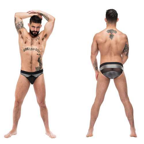 MP Iron Clad Iron Clad Bikini Grey Med