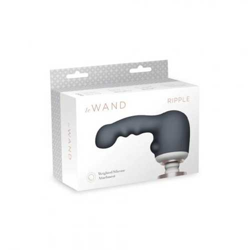 Le Wand Ripple Weighted Silicone Attch